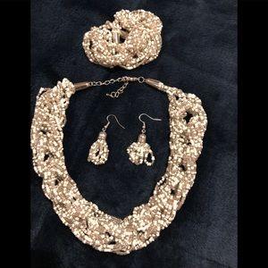 Jewelry - 3 Piece Beaded Necklace Set
